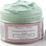 Whipped Bath Butter Soap 4 oz Cucumber Melon