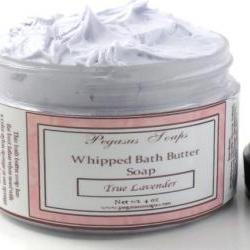 True Lavender Whipped Bath Butter Soap